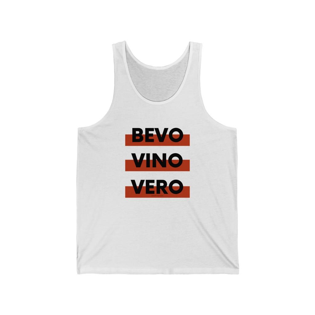 Bevo Vino Vero - Unisex Natural Wine Tank Top – GRAPE REVIVAL