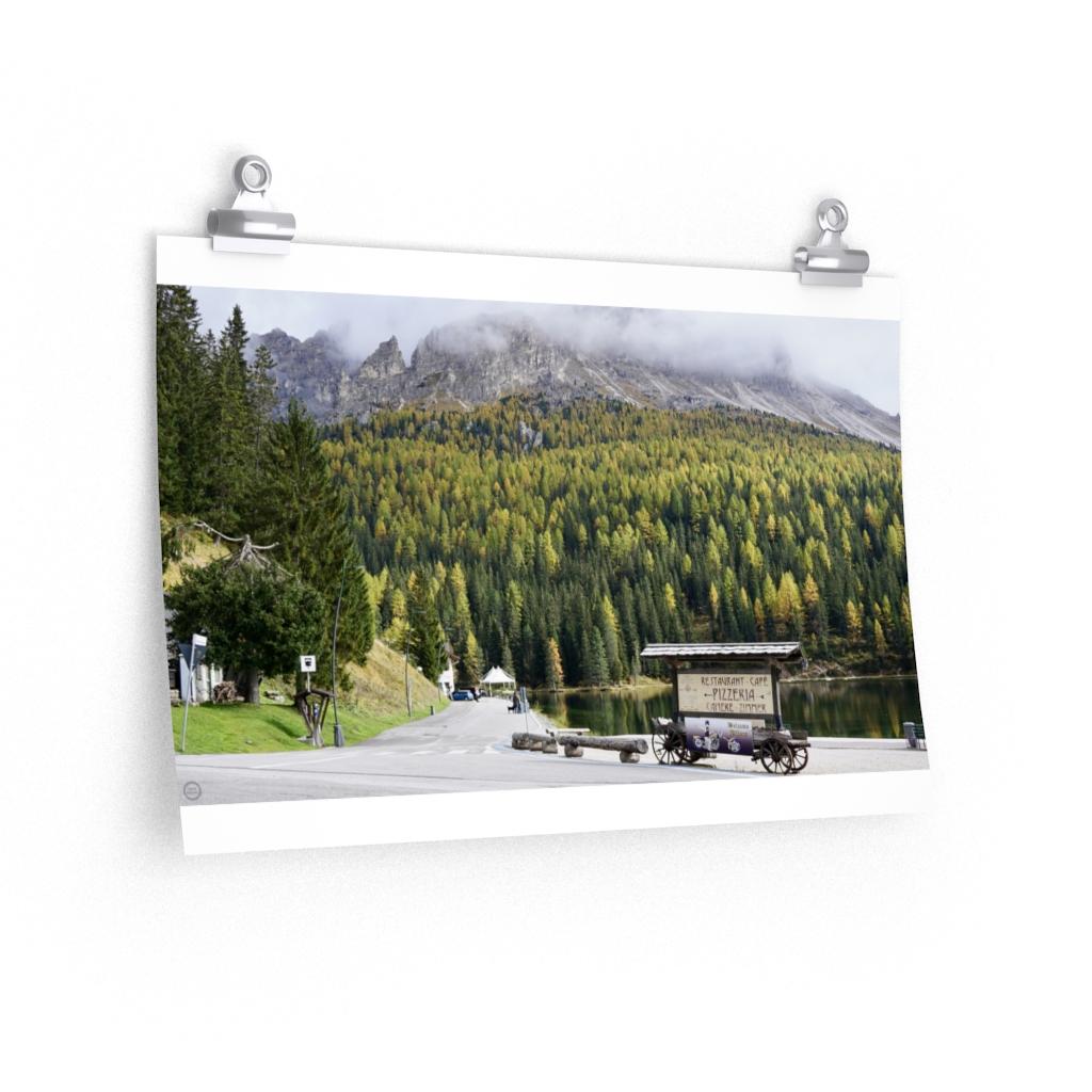 Fall In The Italian Dolomites Poster – GRAPE REVIVAL